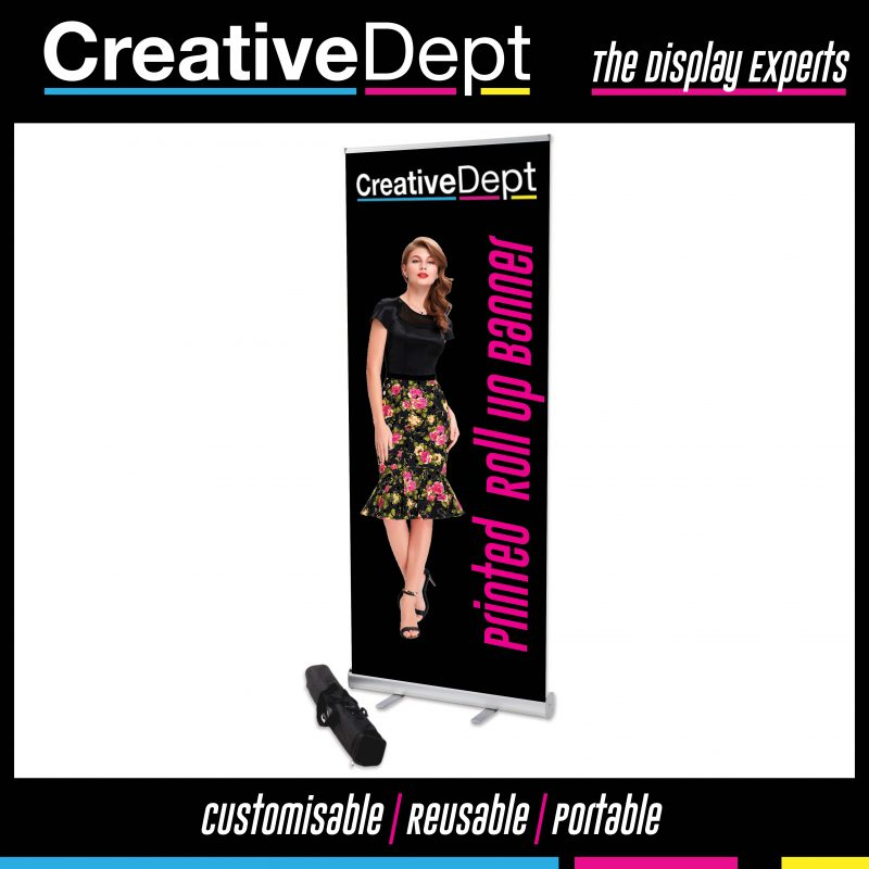 cheap pull up banner 24hr fast turnaround